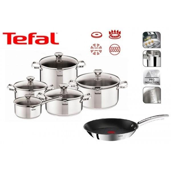 Набор посуды TEFAL DUETTO 11 шт 28 см