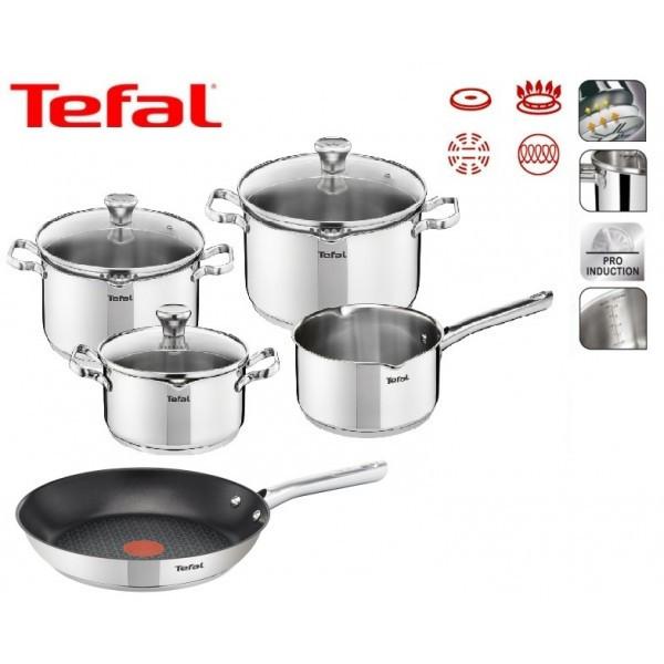 Набор посуды TEFAL DUETTO 8 шт 24 см