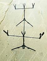 Род под Weida на 3 удочки, подставка для удочек + чехол в комплекте