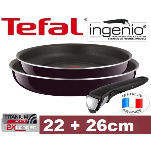Сковородка TEFAL INGENIO 22-26 см