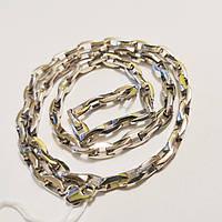 Мужская цепь из серебра длинной 60 см Якорь