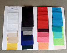 """Стрейч чехол на стол """"Виктор"""" 60/110 Белый из плотной ткани Спандекс, фото 3"""