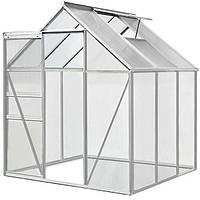 Теплица для сада 7,04 м³ с фундаментом 5 см, фото 1