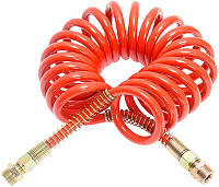 Шланг воздушный спиральный M16 красный, КамАЗ