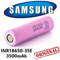 Аккумуляторы  Samsung INR18650-35E  3500mAh /13A, фото 1