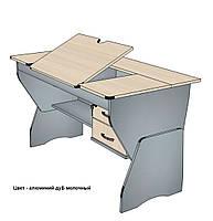 Письменный стол регулируемый 120см, ЛДСП, фото 1