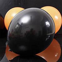 Чёрный воздушный шарик