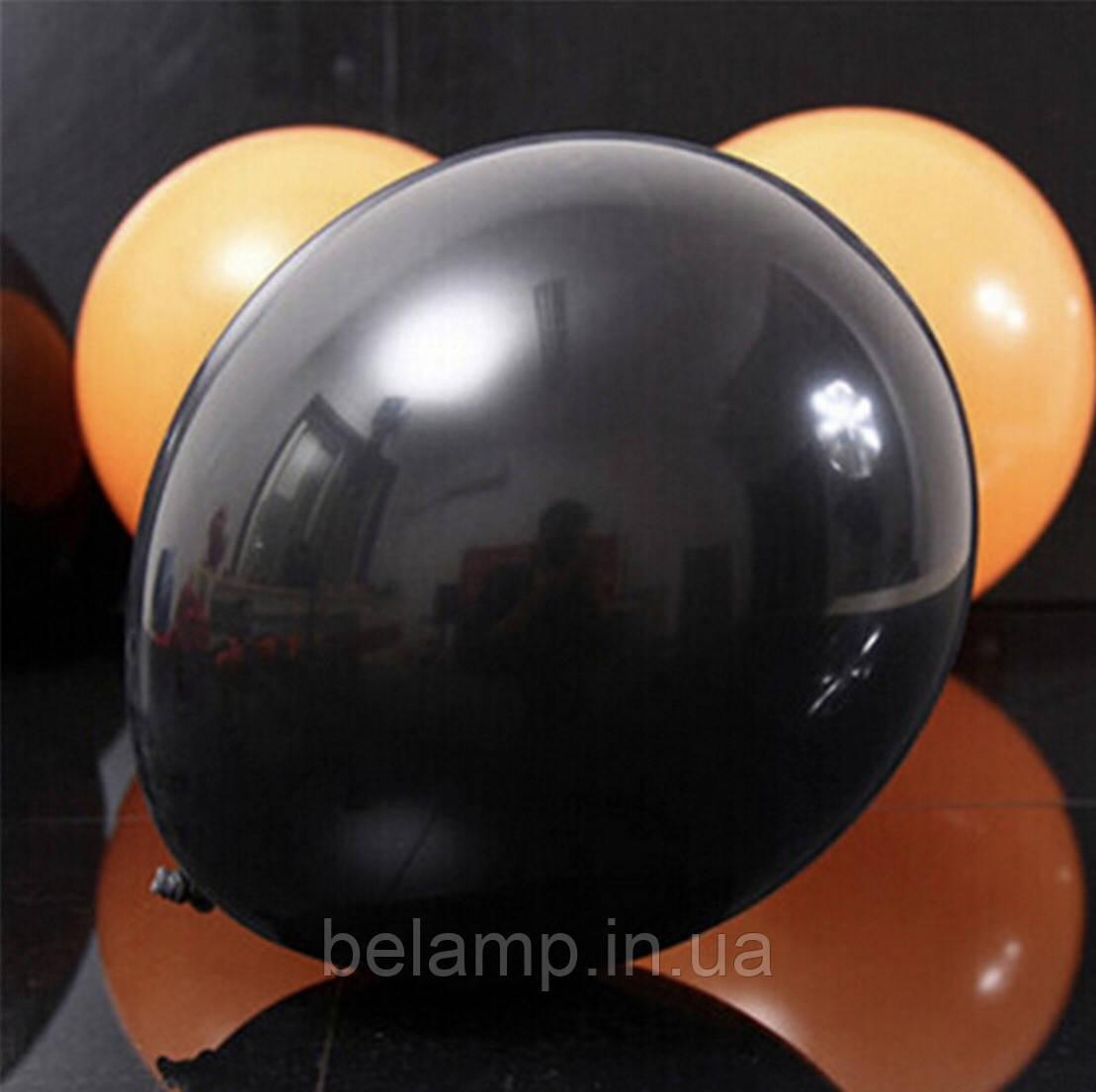 Чёрный воздушный шарик, фото 1