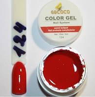 Гель цветной color gel №124
