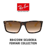 Солнцезащитные очки Ray Ban RB4228M F609/13 Scuderia Ferrari Collection Polarized Unisex Original yellow/brown