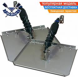Транцевые плиты для катера Nauticus Smart Tab Kit W/80LB 30х23 см, длина катера 5-7 м, мотор 150-240 л.с.