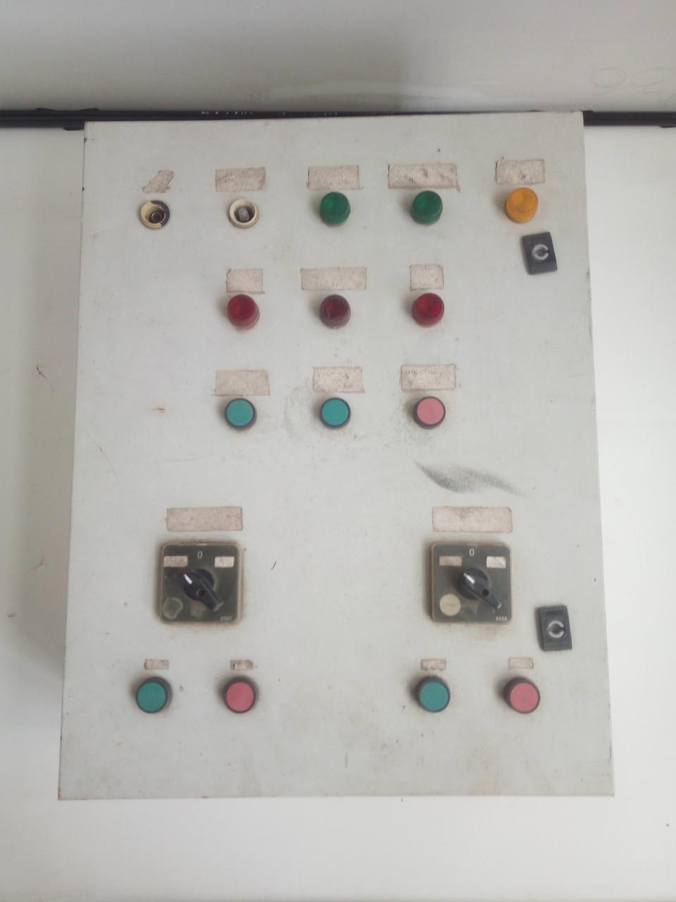 Щит управления вентиляцией c контроллером corrigo regin E151D-3. Б/У. 645х500х220мм.