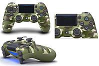 Геймпад бездротовий PlayStation Dualshock v2 Green Cammo