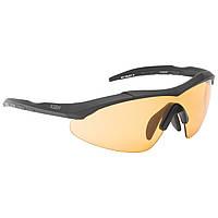 КУПИТЬ ОПТОМ очки тактические 5.11 Aileron Shield реплика, черный