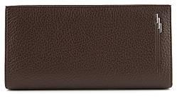 Мужской стильный практичный классический портмоне бумажник под купюру PU кожи FUERDANNI art. 1807 Коричневый