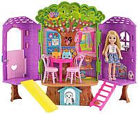 Будиночок Челсі на дереві Barbie Club Chelsea Treehouse Playset, фото 1