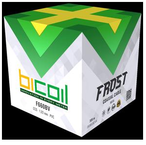 BiCoil кабель коаксіальний F660BV FROST ССЅ 305m