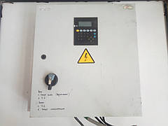 Щит управления вентиляцией c панельным контроллером segnetics SMH2010 Б/У. 650х600х160мм.