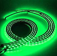 Подсветка для дна и салона автомобиля rgb + режим светомузыки 2 ленты по 60 см 2 по 90 см