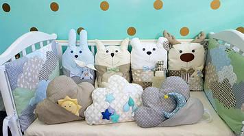 Текстиль для немовлят у ліжечко і коляску