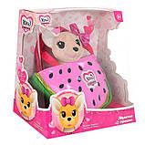 Собачка кикки в сумочке, интерактивная игрушка 16 см, фото 2
