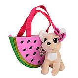 Собачка кикки в сумочке, интерактивная игрушка 16 см, фото 3