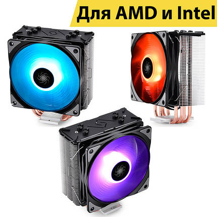 Кулер для процесора Deepcool GAMMAXX GTE LGA 2066//2011/1366/1150/1151/1155/1156, FM1/FM2/AM2/AM3/AM4, фото 2