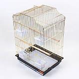 ЗОЛОТА Клітка для папуги 46*36*71см, фото 5