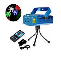 Лазерный проектор с рождественскими узорами, фото 1