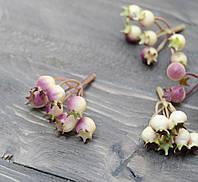 Искусственные ягоды шиповника сирень 1 шт, фото 1