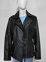 Куртка-косуха черная батальная  размеры 52-60, фото 1