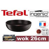 Сковородка TEFAL INGENIO 26 см WOK, фото 1