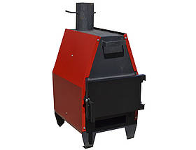 Печь на дровах ProTech ZUBR-ПДГ- 5, 10, 15 квт