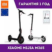 Электросамокат Xiaomi MiJia M365 Electric Scooter Белый/ Черный Европейская версия