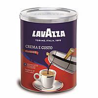 Молотый кофе Lavazza Crema Gusto жест.банка (250г)