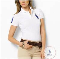 RALPH LAUREN POLO женские футболки поло ралф лорен купить в Украине, фото 1