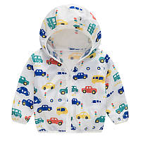 Куртка-дождевик для мальчика Светофор Jomake (130)
