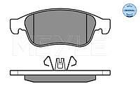 Комплект тормозных колодок, дисковый тормоз MEYLE 025 249 1418