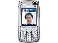 Корпус для Nokia 6680, серебристый, оригинальный