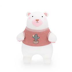 Мягкая игрушка Мишка в красном свитере, 24 см Metoys