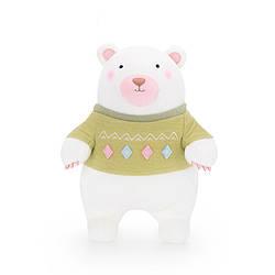 Мягкая игрушка Мишка в зеленом свитере, 24 см Metoys