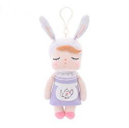 Мягкая кукла - подвеска Angela Purple, 18 см Metoys