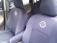 Чехлы модельные  Nissan Micra (K12) 2003-2010   (разд.задн.сп.и сид.)