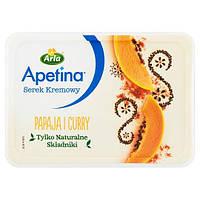 """Крем-сыр Arla Apetina """"Папайя и карри"""",  125 г"""