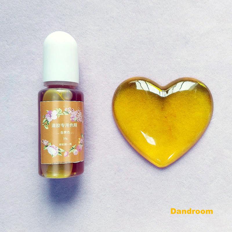 Краситель для эпоксидной смолы, Светло-желтый, 10 г