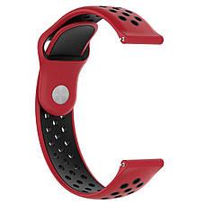 Ремешок BeWatch sport-style для Samsung Gear 3  Red-Black (1020131), фото 3