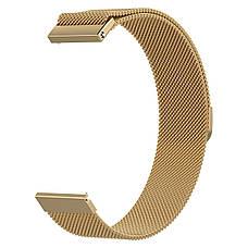 Ремешок стальной BeWatch миланская петля шириной 20 мм Gold (1010228.u), фото 3