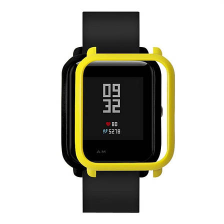 Накладка бампер Tamister для часов Xiaomi Amazfit Bip Yellow (1010520), фото 2