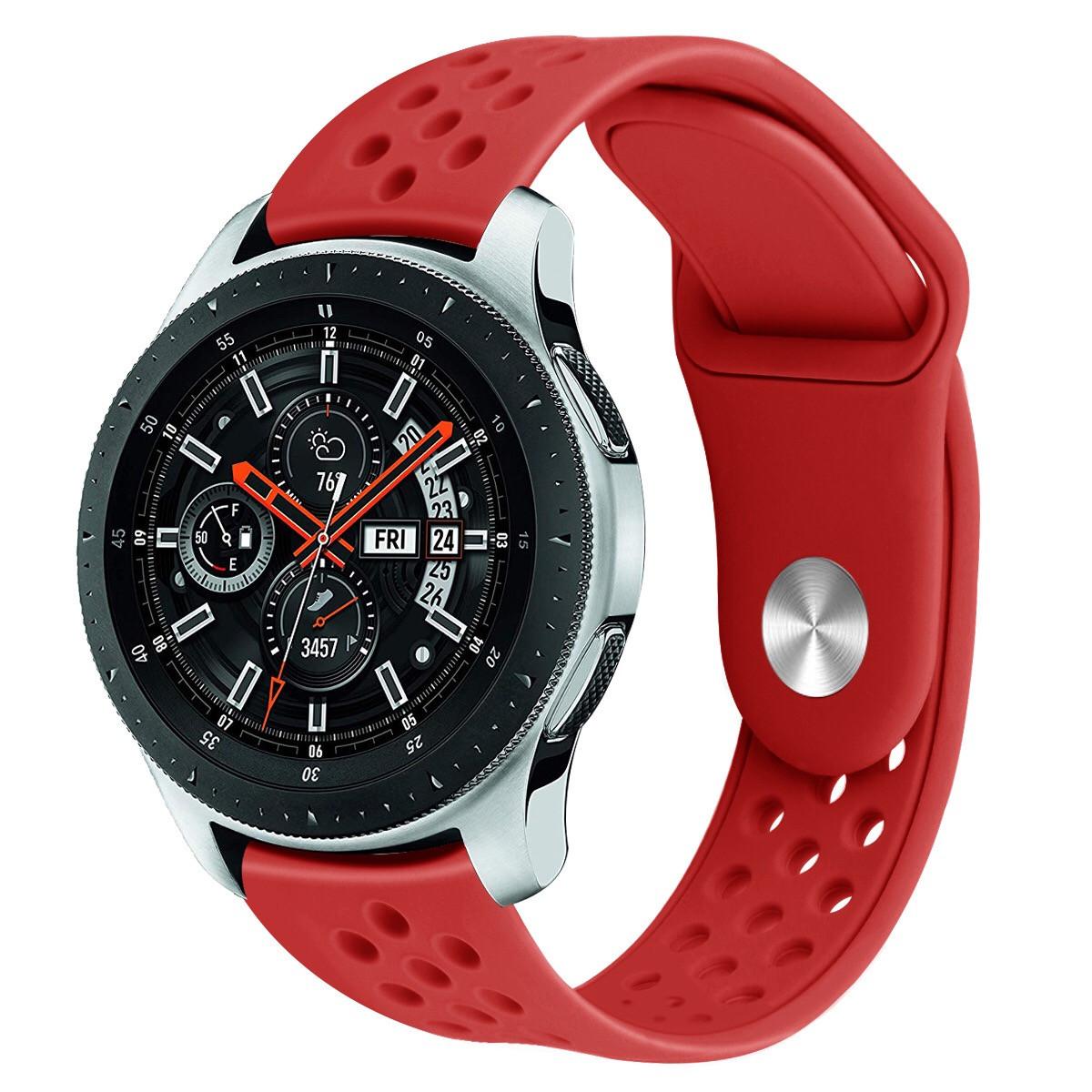 Ремешок силиконовый BeWatch OneColor 22 мм для смарт-часов Samsung Gear S3 Red (1020503)