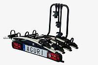 Крепление для велосипедов на фаркоп AGURI ACTIVE BIKE 3+1